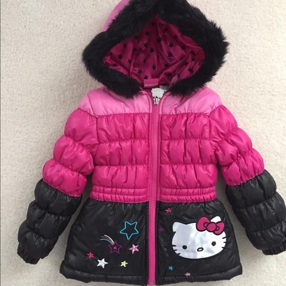 34abde3bc Hello Kitty Jackets & Coats | Winter Puffer Coat Toddler 2t | Poshmark